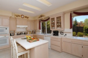 Staged Kitchen